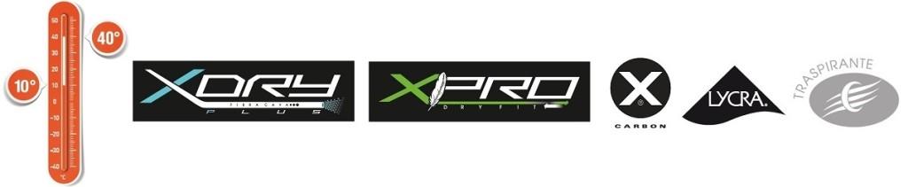 10-40-logo-XDry-Logo-XPro-logo-Resistex-carbon-logo-lycra-logo-traspirante-1024x211